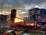 abandoned heavy industry hdr