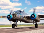 WWII B25 Mitchell Bomber