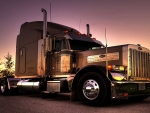 Peterbilt Sunset