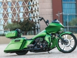 Paul Yaffe's Lime Time Road Glide