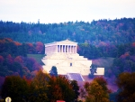 The Walhalla, Germany, Danube River