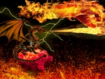 dragon fiery madness