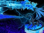 blue dragon fiery madness