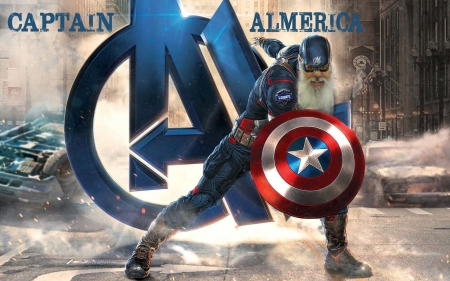 Captain Almerica - technology, funny, people, entertainment