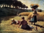 Gleaners at Rest F