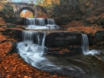 Autumn Waterfall from Bulgaria