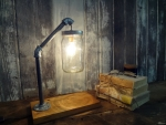 Rustic  Chic Desk Lamp