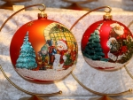 decoratively Xmas balls