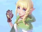 "Full HD Hyrule Warriors ""Linkle"" By Kuvshinov Ilya"