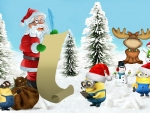 Christmas Minions by MaDonna