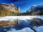 Yosemite Winter, California