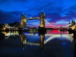 Tower Bridge at sunrise