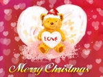 santa bear with love
