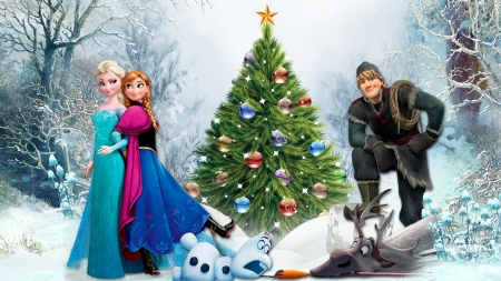 frozen christmas wallpaper - photo #15