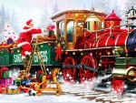 Loading Up Santa Express
