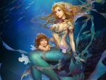 Underwater Mermaids