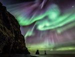 Icelandic Legends and Aurora