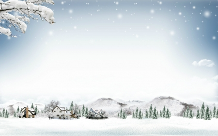 White Christmas - Other & Abstract Background Wallpapers on ...