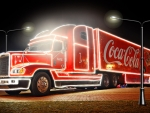 Coca Cola Lighted Truck