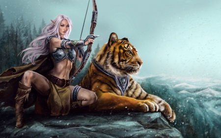Tiger Girl Wallpapers | HD Wallpapers
