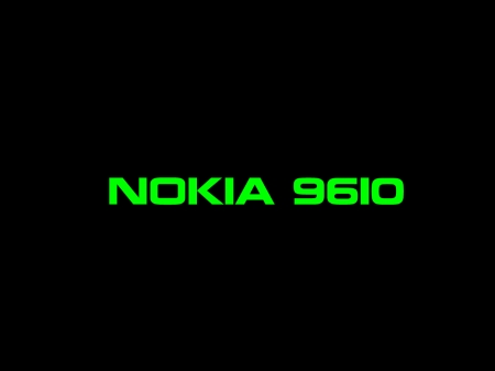 Nokia 9610 - Nokia, green, black, Intel