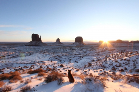 Monument Valley - desert, cool, Monument Valley, nature, fun