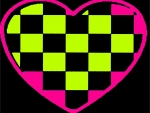 Checker Heart