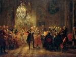 A Flute Concert of Frederick the Great at Sanssouci