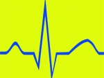 Blue EKG Yellow