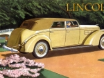 1937 Lincoln LeBaron Convertible