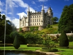 dun robin castle scotland