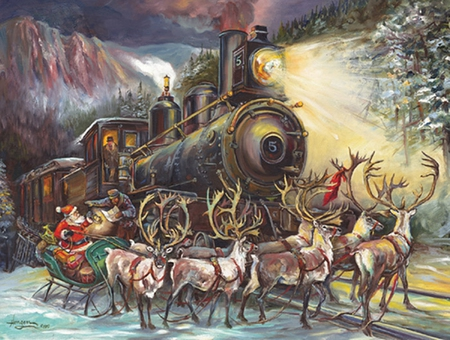 Merry Christmas - Fantasy & Abstract Background Wallpapers on ...
