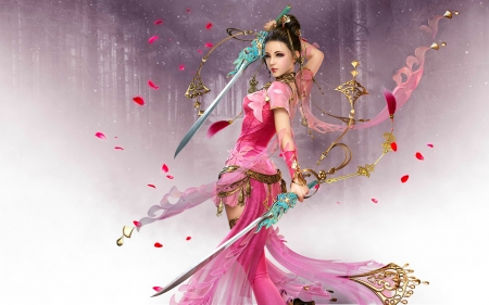 Beautiful fighter - Fantasy &amp- Abstract Background Wallpapers on ...