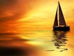 The sailing vessel