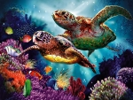 Sea Turtle Mother F2Cmp