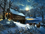 Moonlit Covered Bridge F1