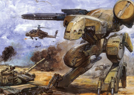 Metal Gear Rex - rex, battle, gear, metal, combat