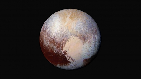 Pluto - pluto, space, planets, galaxy