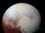 A Colour Enchanted photo Of Pluto