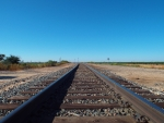 Lubbock Railroad Tracks 1