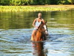Riding The River........