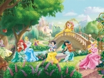 Disney princesses and pets