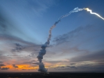 orion space capsule launch
