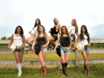 Cowgirl Lineup..........