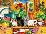 Potting Shed Kittens F
