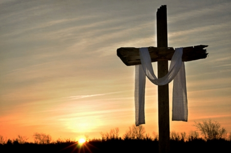 easter cross sunsets nature background wallpapers on