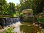 Old Grist Mill by the River