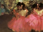 Dancers in Pink F