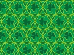 Irish Chain Shamrock Quilt (1 of 2)