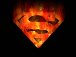 superman on fire